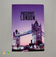 Обложка для паспорта LONDON. TOWER BRIDGE