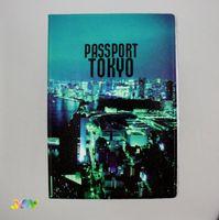 Обложка для паспорта TOKIO. CITY
