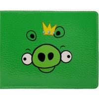 "Обложка ""Angry Birds"" green"