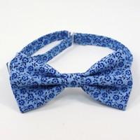 Галстук-бабочка BLUE FLOWERS