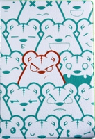 """Обложка для паспорта """"Сrazy Bears"""""""